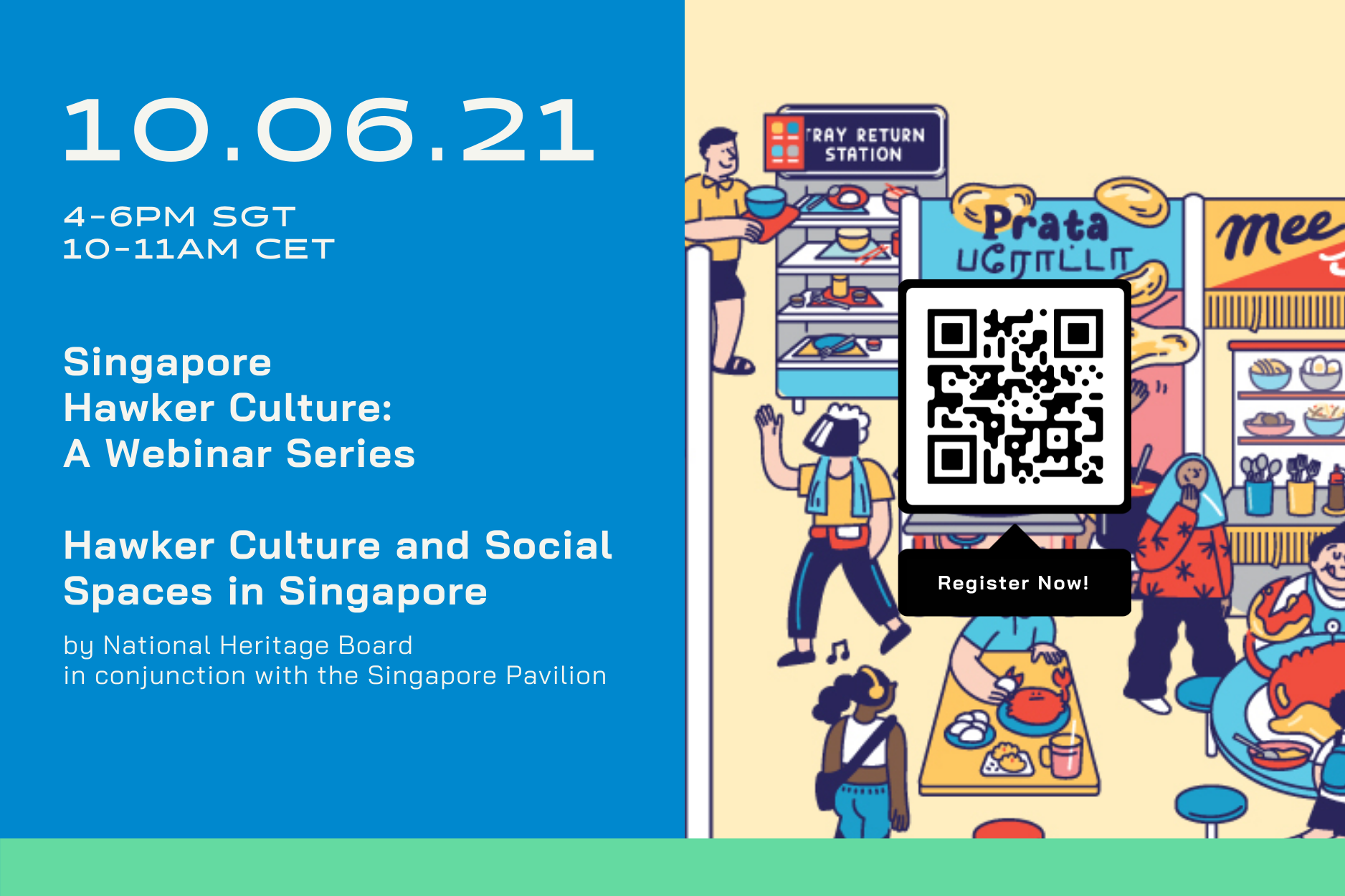 Webinar: Hawker Culture and Social Spaces in Singapore